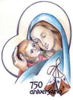 750th  Anniversary Mary 150X205.JPG (7956 bytes)